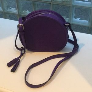 Coach purple shoulder bag